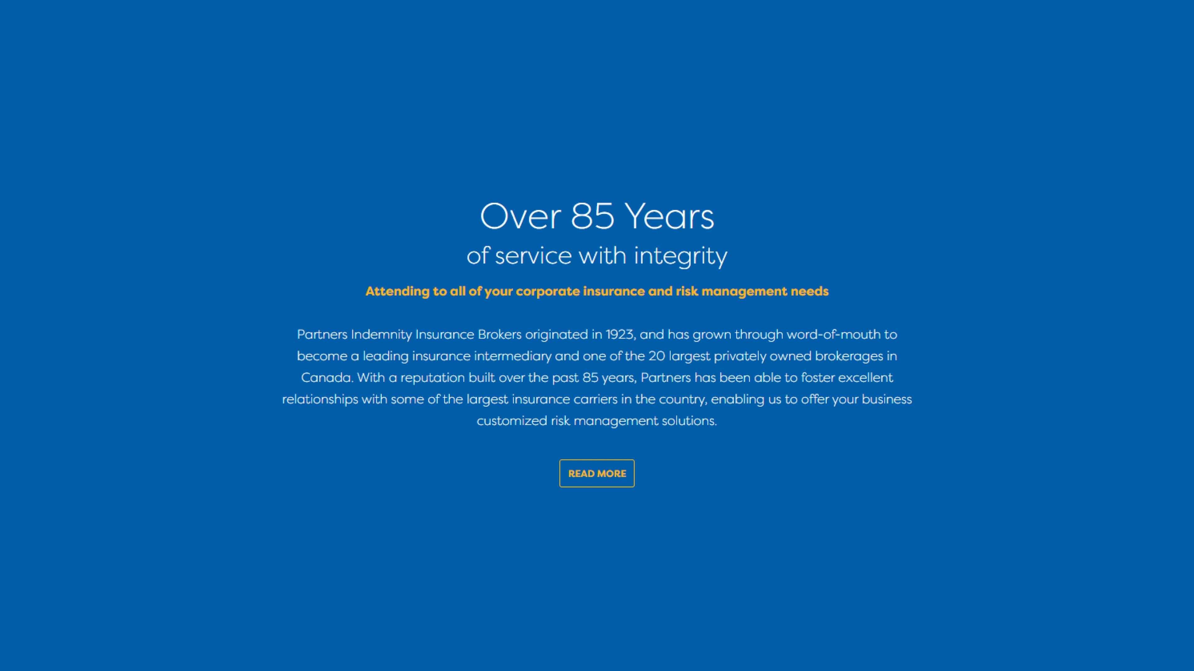 Partners Indemnity Insurance Brokers Ltd.: Brand ...
